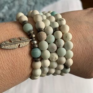 Natural stones necklace or bracelet